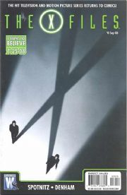 X-Files Special #0 (2008) Movie DC comic book